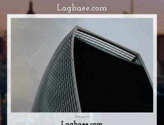 laghaee.com screenshot