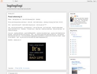 lagilagilagi.blogspot.com screenshot