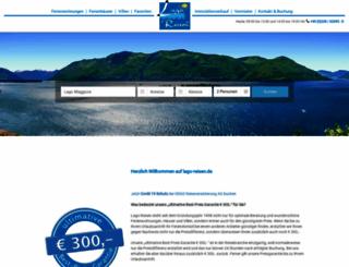 lago-reisen.de screenshot