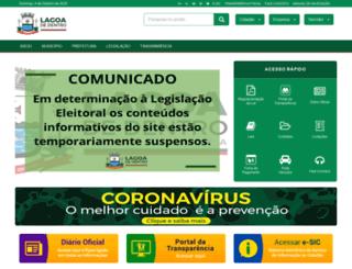 lagoadedentro.pb.gov.br screenshot