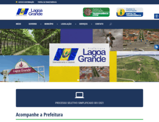 lagoagrande.pe.gov.br screenshot