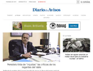 lagomera.diariodeavisos.com screenshot