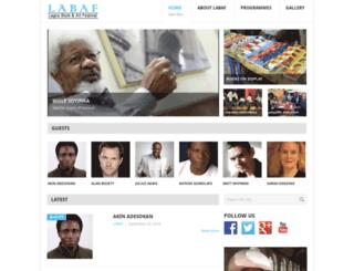 lagosbookartfestival.net screenshot