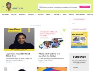 lagosmums.com screenshot