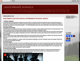 lagosprivateschools.blogspot.fr screenshot