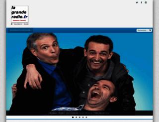 lagranderadio.fr screenshot