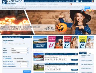 lagrange-holidays.eu screenshot