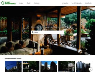 lagraninmobiliaria.com screenshot