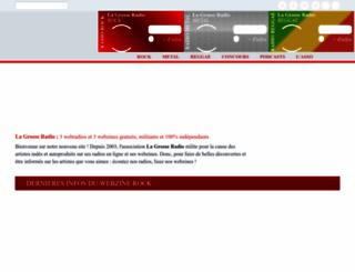 lagrosseradio.com screenshot