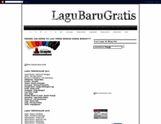 lagubarugratis.blogspot.com screenshot