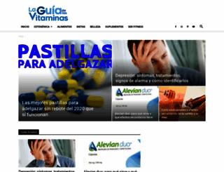 laguiadelasvitaminas.com screenshot