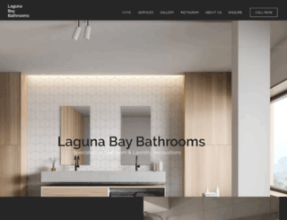 lagunabaybathrooms.com screenshot