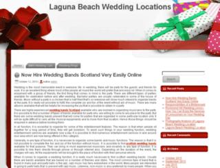 lagunabeachweddinglocations.com screenshot