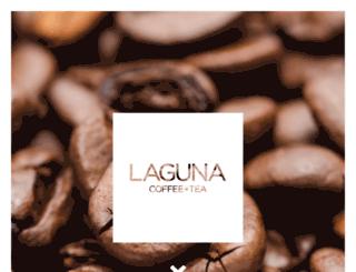 lagunacoffeeandtea.com screenshot