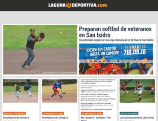 lagunadeportiva.com.mx screenshot