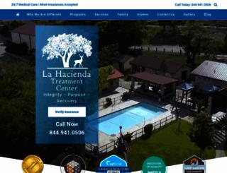 lahacienda.com screenshot