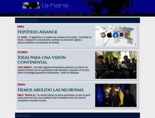 lahaine.org screenshot
