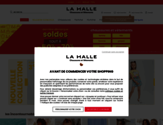 lahalle.com screenshot