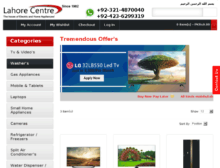 lahore-centre.com screenshot