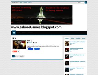lahoregames.blogspot.com screenshot