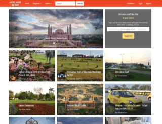 lahorelahorehaiyaar.com screenshot