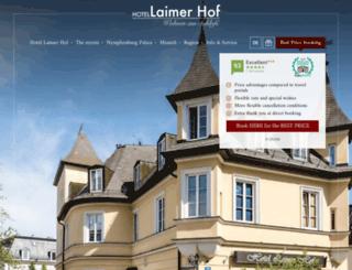 laimerhof.de screenshot