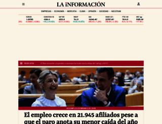 lainformacion.com screenshot