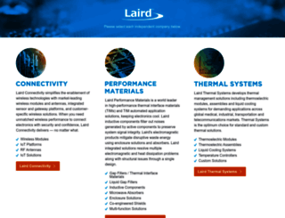 lairdtech.com screenshot