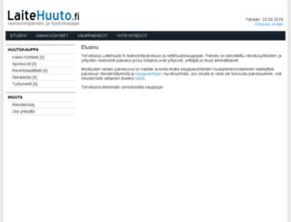 laitehuuto.fi screenshot
