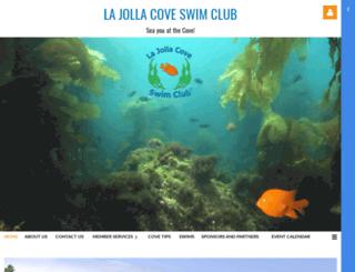lajollacoveswimclub.org screenshot