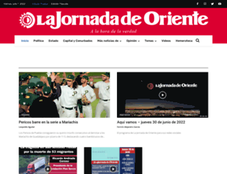 lajornadadeoriente.com.mx screenshot