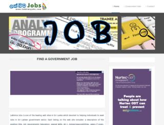 lakbimajobs.com screenshot
