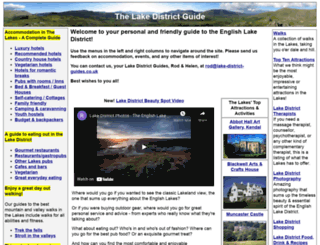 lake-district-guides.co.uk screenshot