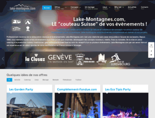 lake-montagnes.com screenshot