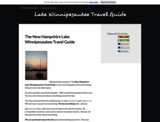 lake-winnipesaukee-travel-guide.com screenshot