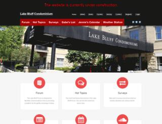 lakebluffforum.com screenshot