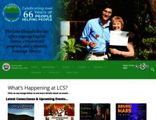 lakechapalasociety.org screenshot