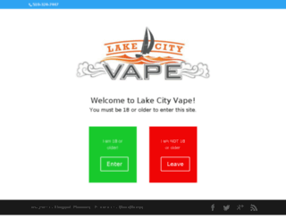 lakecityvapeny.com screenshot