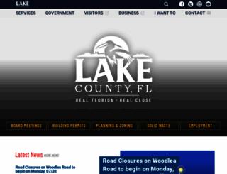 lakecountyfl.gov screenshot