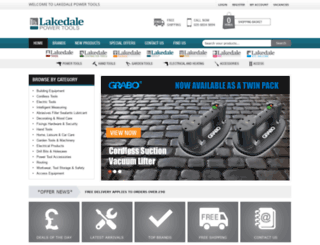 lakedalepowertools.co.uk screenshot