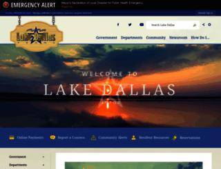 lakedallas.com screenshot