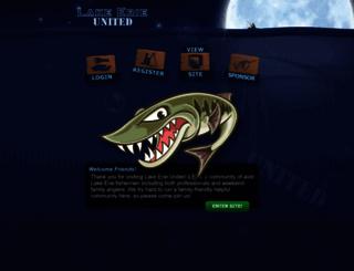 lakeerieunited.com screenshot