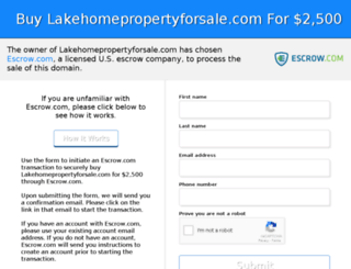 lakehomepropertyforsale.com screenshot