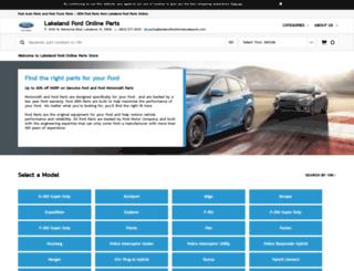 lakelandfordparts.com screenshot