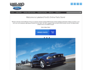 lakelandfordwholesaleparts.com screenshot