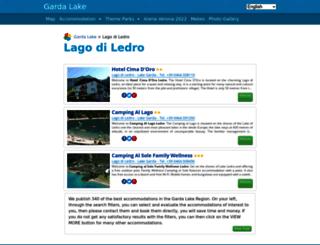 lakeledro.eu screenshot