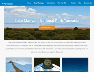 lakemanyara.net screenshot