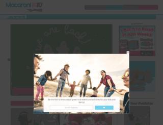 lakenorman.macaronikid.com screenshot