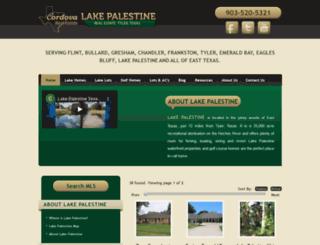 lakepalestinetx.com screenshot