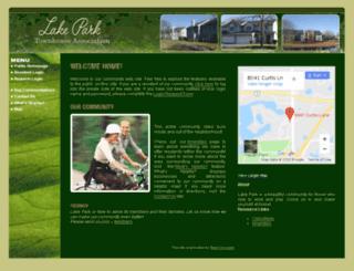 lakeparktownhomes.org screenshot